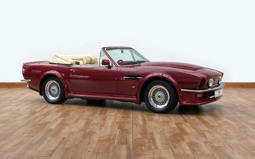Aston Martin Дэвида Бэкхема выставили на продажу за 550 тыс. долларов
