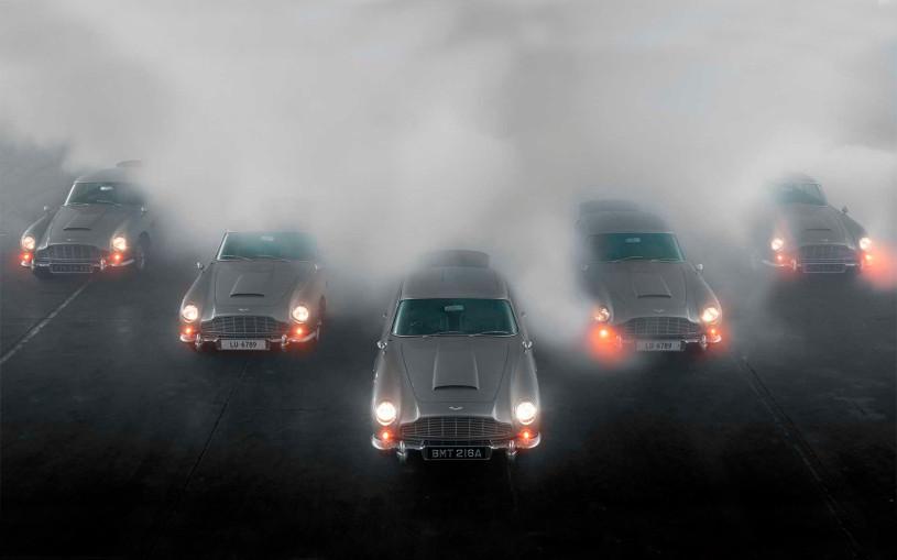 Aston Martin выпустил партию шпионских спорткаров с пулеметами. Видео