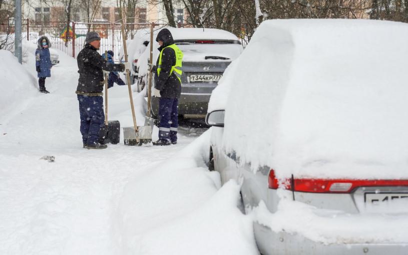 Власти Москвы предупредили о перекрытии улиц из-за уборки снега