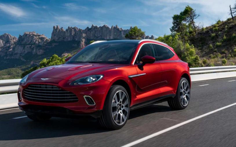 Aston Martin выпустил кроссовер впервые за свою вековую историю