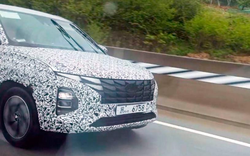 Модернизированная Hyundai Creta получит внешность в стиле нового Tucson