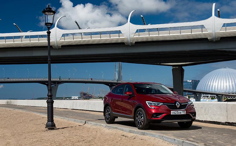 Renault Arkana пополнил парк каршеринга в России