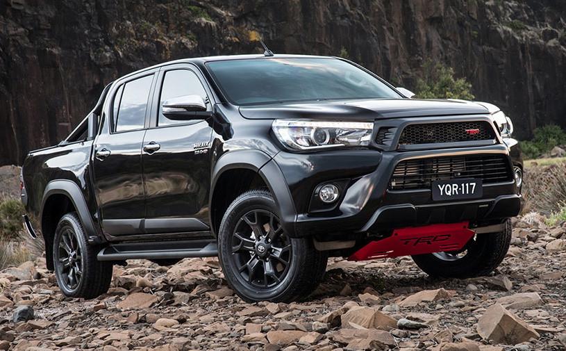 Toyota разработает экстремальную версию пикапа Hilux