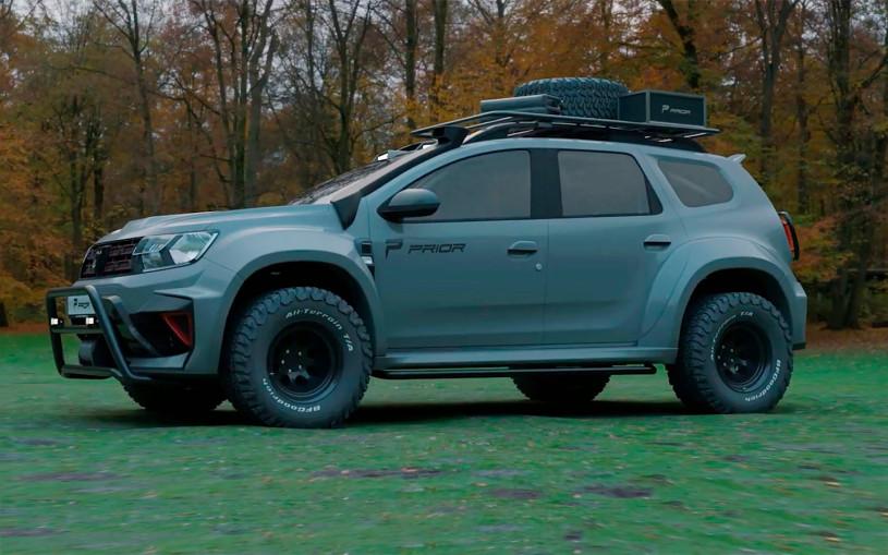 В Германии создали сверхмощный Renault Duster для тяжелого бездорожья