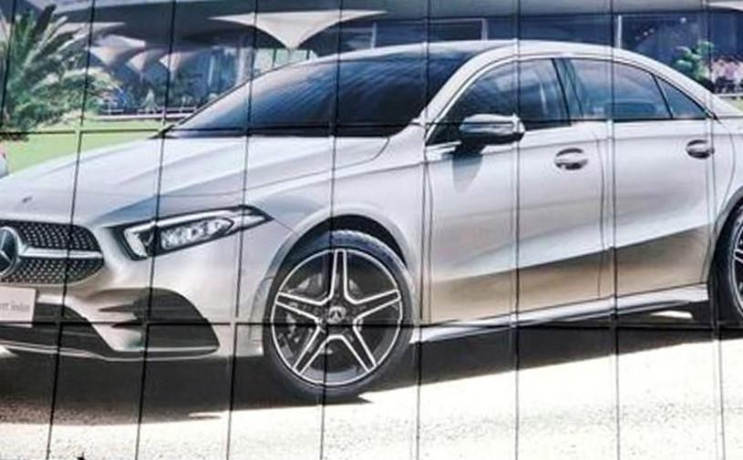 Серийный седан Mercedes A-Class рассекретили до премьеры