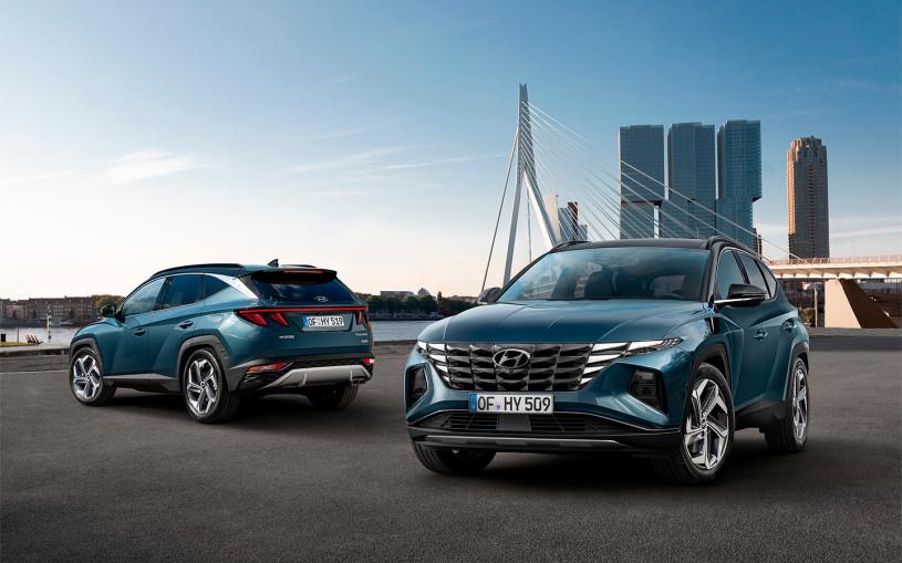 Hyundai привезет в Россию кроссовер Tucson нового поколения в 2021 году