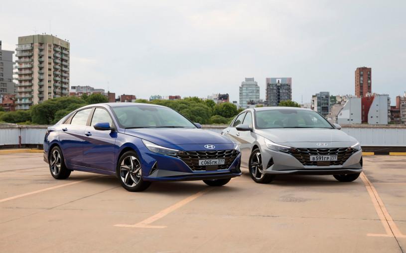 Hyundai рассказал о новой Elantra для России