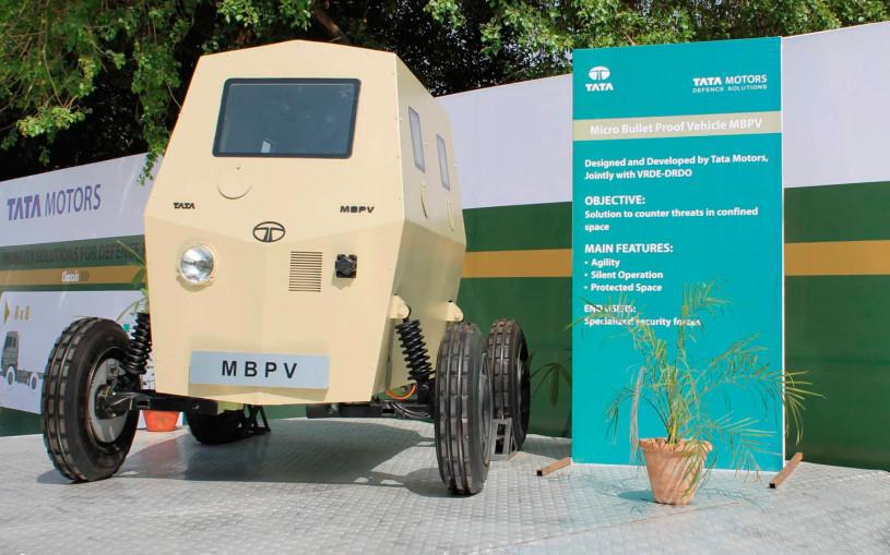 Индийская Tata показала компактный броневик для борьбы с террористами