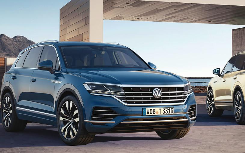 Volkswagen представил Touareg нового поколения