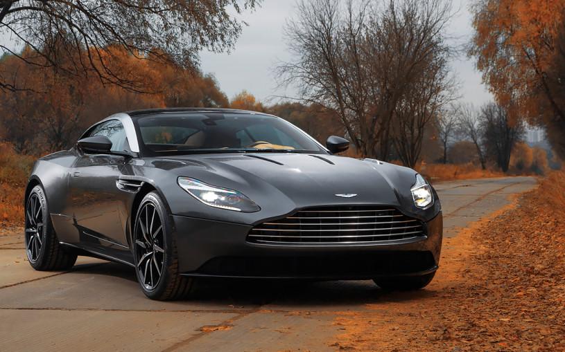 Лед и пламя. Тест-драйв Aston Martin DB11