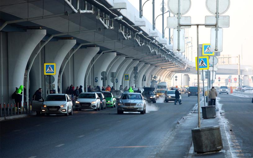 Власти рассказали о нарушителях ПДД возле аэропорта Внуково