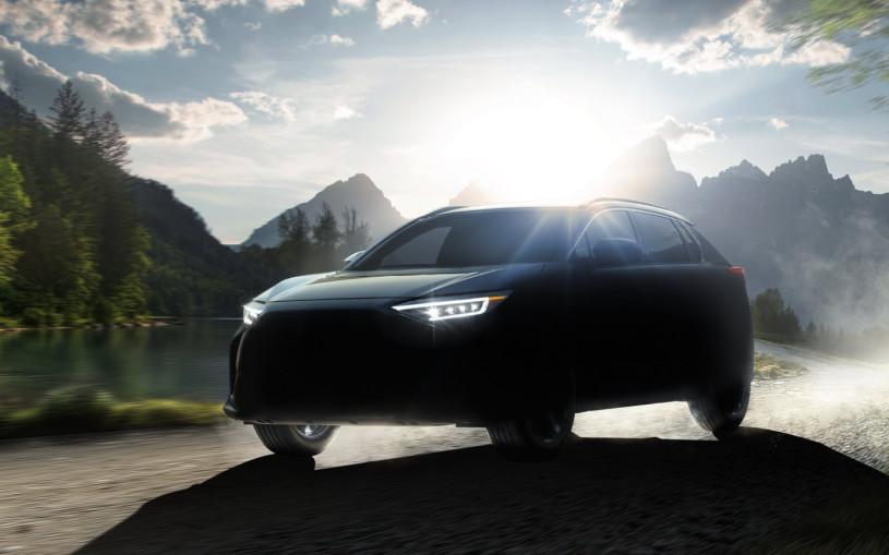 Показан дизайн совместного кроссовера Subaru и Toyota