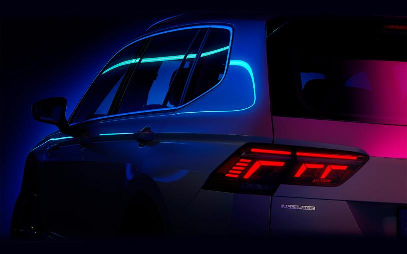 Новый семиместный Volkswagen Tiguan: первое изображение