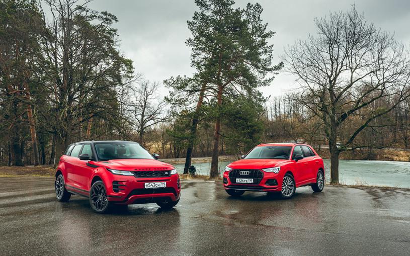 Все и сразу. Audi Q3 против Range Rover Evoque