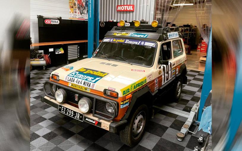 Lada Niva 80-х годов примет участие в ралли-рейде «Дакар». Фото