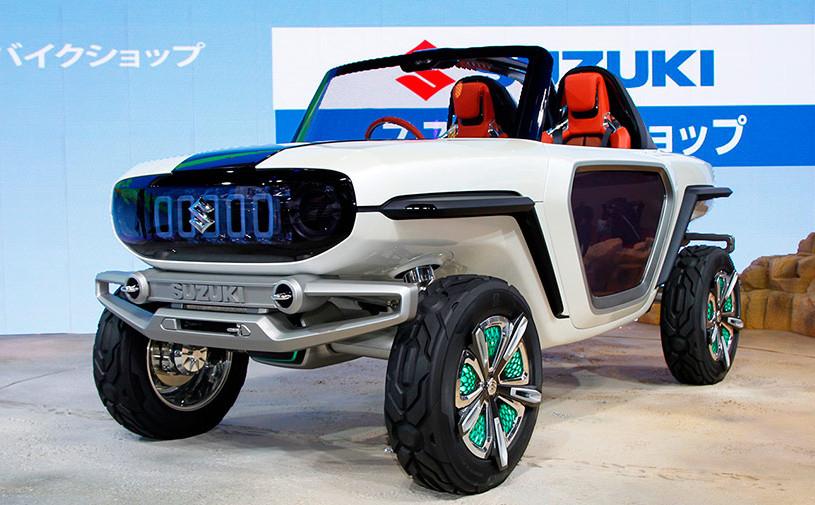Suzuki показала в Токио внедорожник с открытым верхом