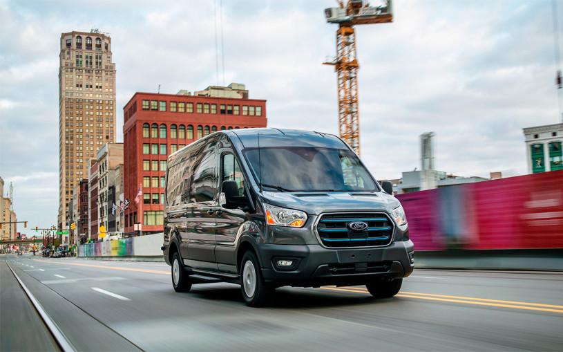 В России запустят производство электрического Ford Transit