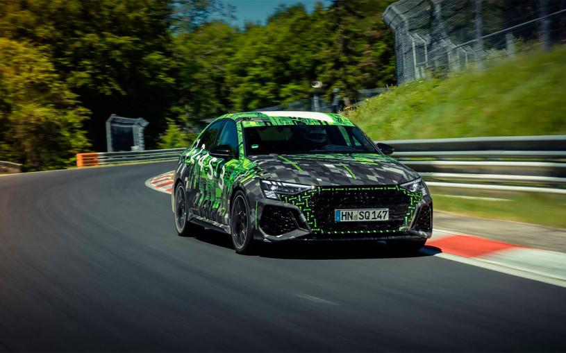 Новый Audi RS3 установил рекорд Нюрбургринга среди компактных машин