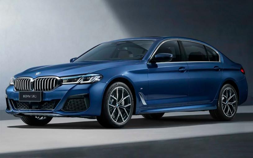 Обновленный седан BMW 5-Series получил удлиненную версию