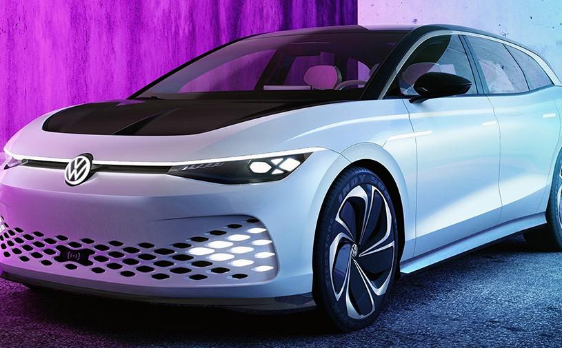 У Volkswagen появился электрический универсал размером с Audi A6