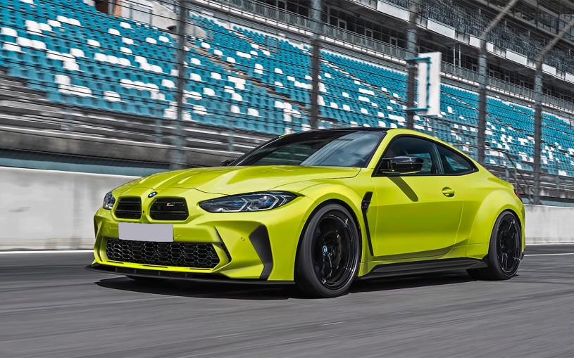 BMW M4 лишат огромной решетки радиатора