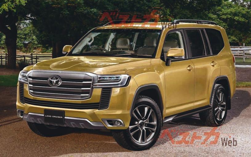 Toyota начнет принимать заказы на Land Cruiser 300 через два месяца