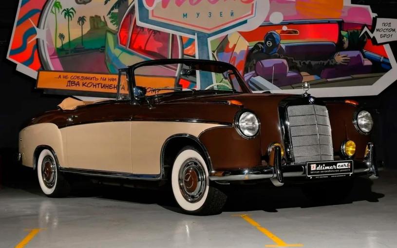 В Твери нашли очень редкий Mercedes-Benz и продают за ₽14,6 млн