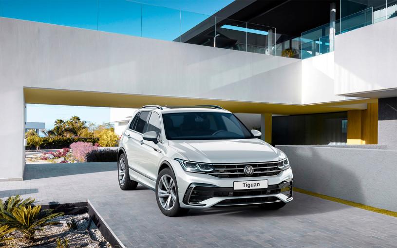 Volkswagen назвал российские цены на обновленный Tiguan