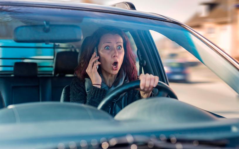Камеры оштрафовали 3,5 тыс. водителей за разговоры по телефону в Москве