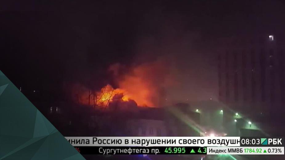 В Москве в крупном пожаре погибли 9 человек, в полиции говорят о поджоге