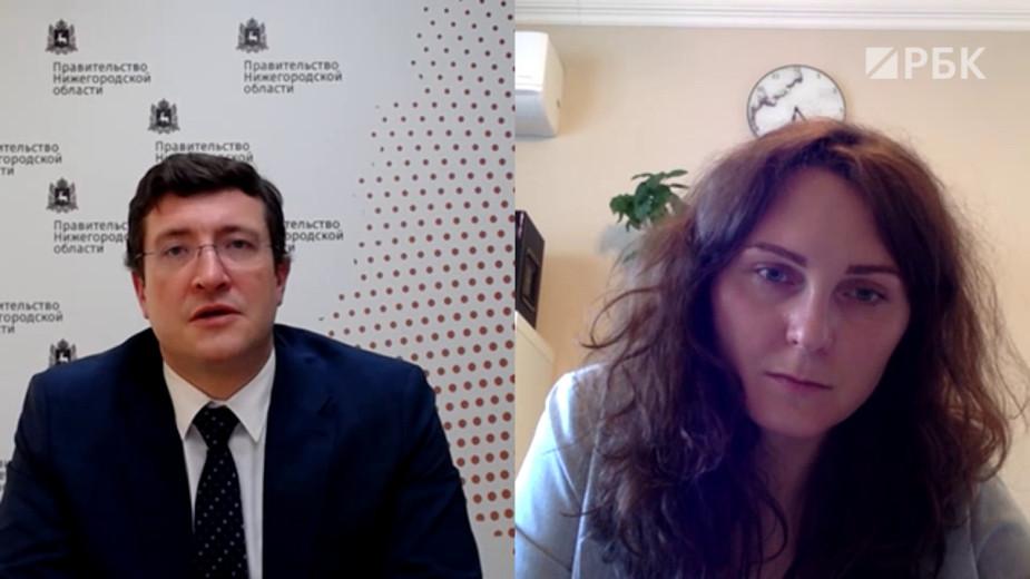 Глеб Никитин— РБК: «Меня пугают майские праздники»
