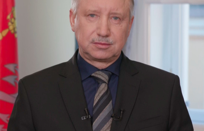 Видео: пресс-служба губернатора Санкт-Петербурга