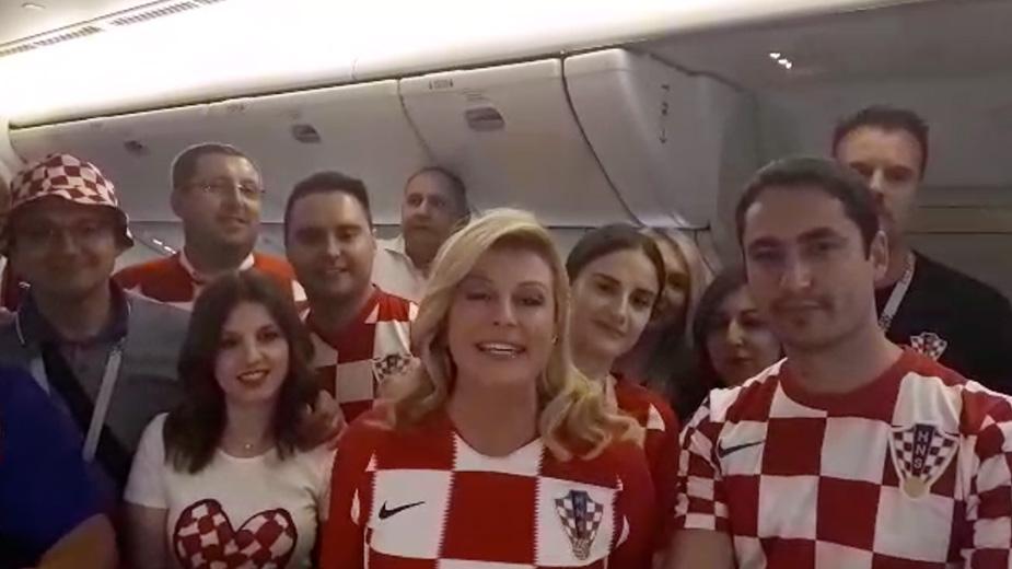 Видео: Kolinda Grabar-Kitarović / Facebook