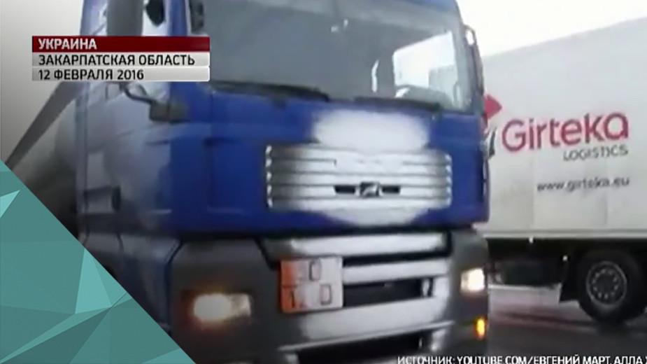 Глава Закарпатья призвал запретить транзит российских фур через Украину