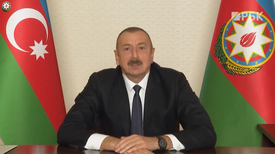 Алиев обратился к Пашиняну фразой «статус пошел в ад». Видео