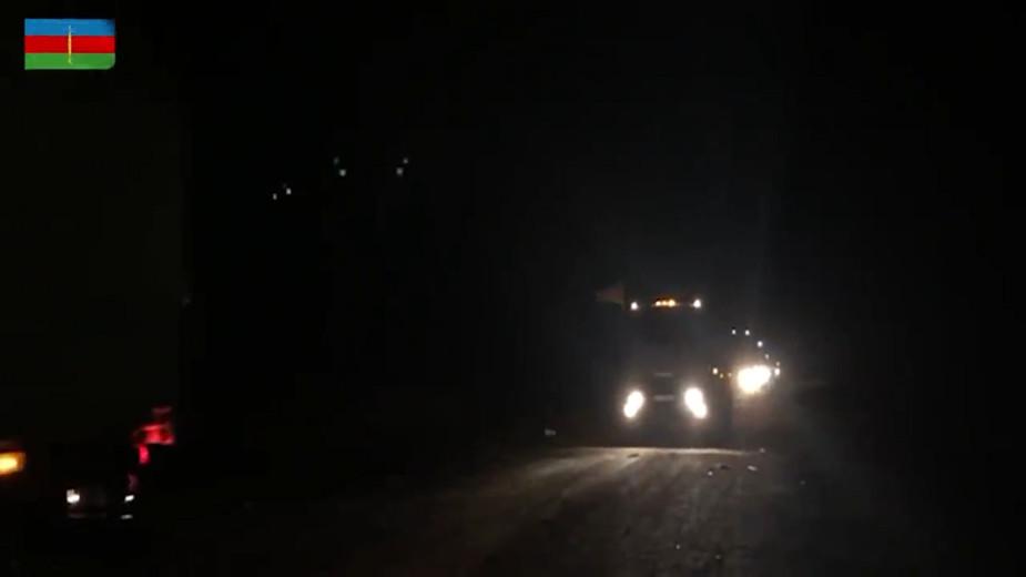 Азербайджанская армия вошла в Лачинский район в Нагорном Карабахе. Видео