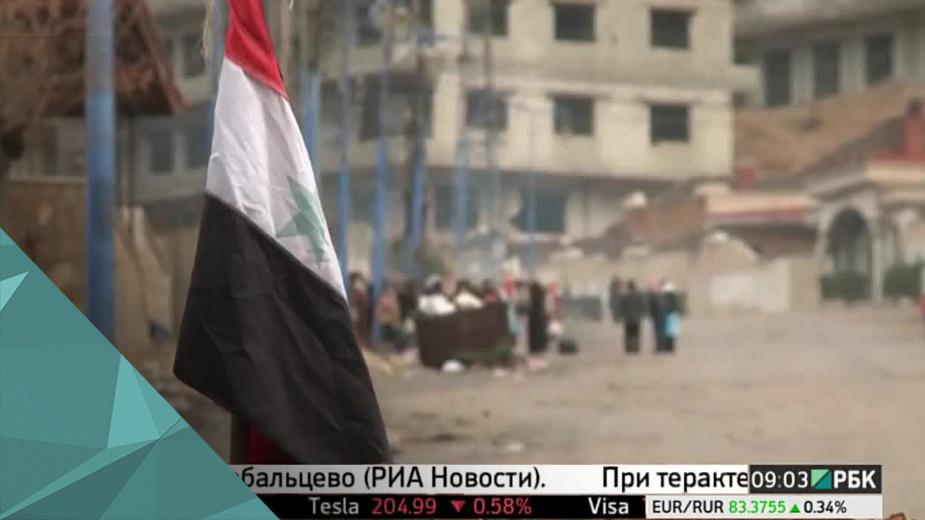 Массовое убийство в Сирии