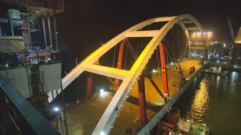 Видео: Информационный центр «Крымский мост»