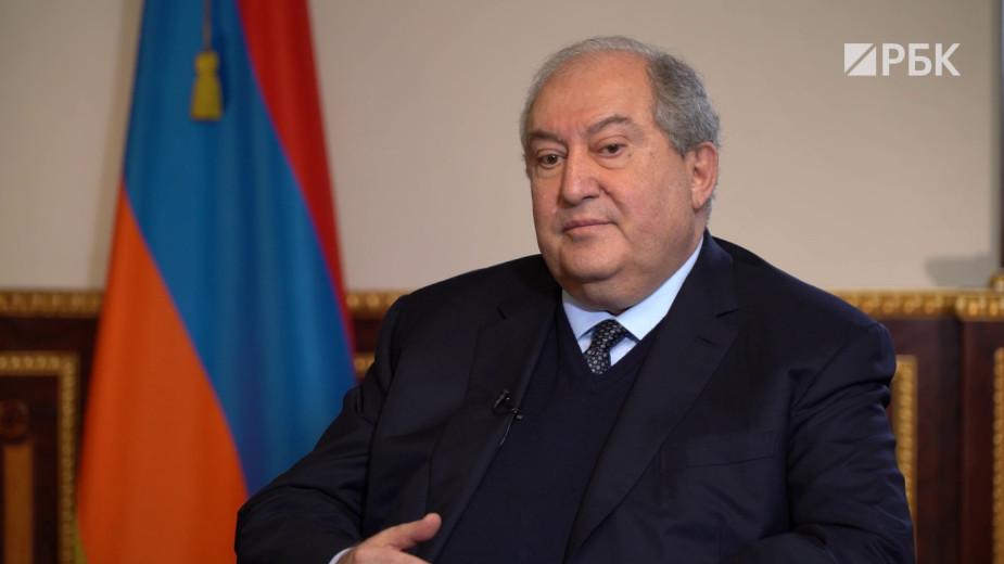 Президент Армении— об Азербайджане, России и Пашиняне. Полное видео