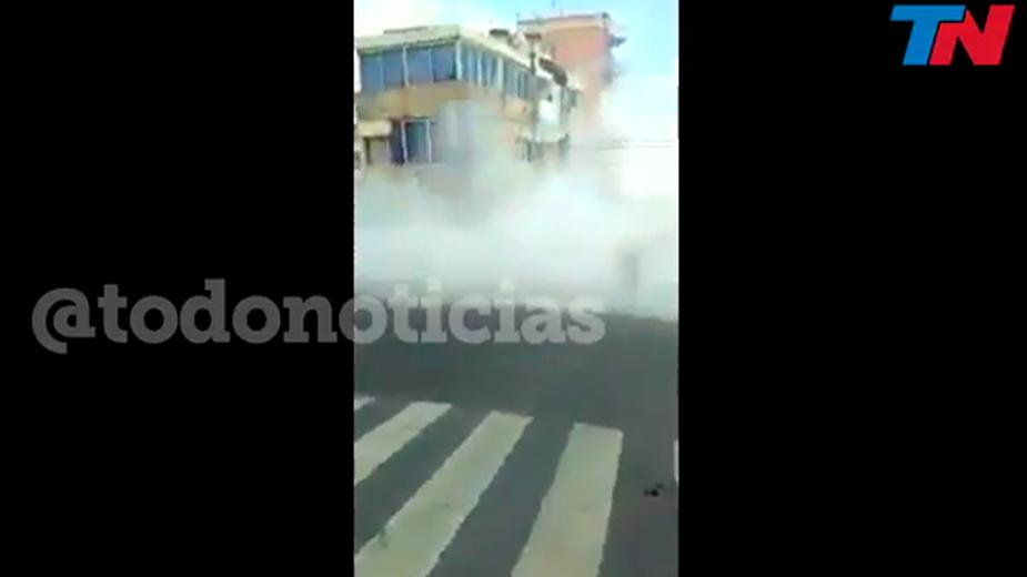 Видео: todonoticias / Twitter
