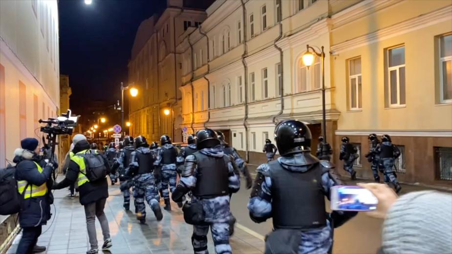В ЕСПЧ подали первую жалобу из-за акции за Навального