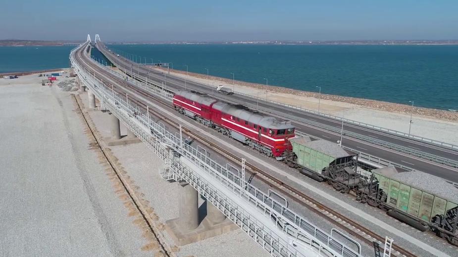 Видео: Инфоцентр «Крымский мост»