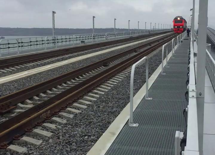 Видео: Керченский мост / ВКонтакте