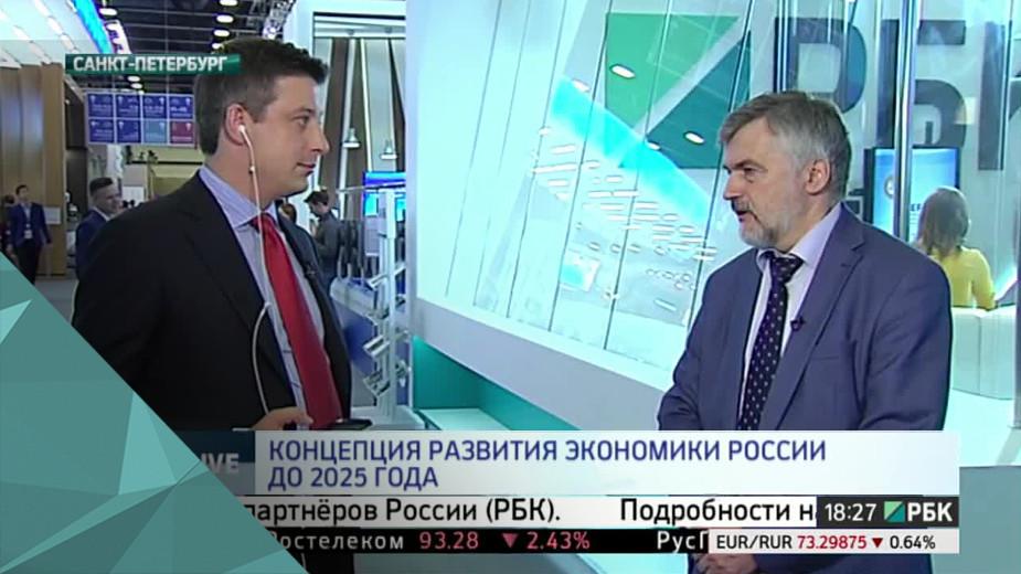 Концепция развития экономики России до 2025 года