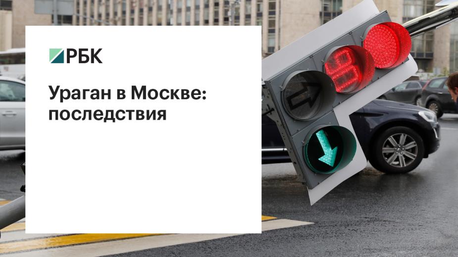 Ураган в Москве: последствия