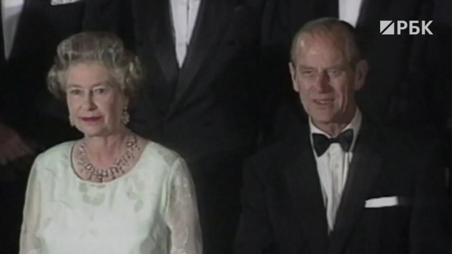 Как пройдут похороны супруга Елизаветы II, принца Филиппа. Видео