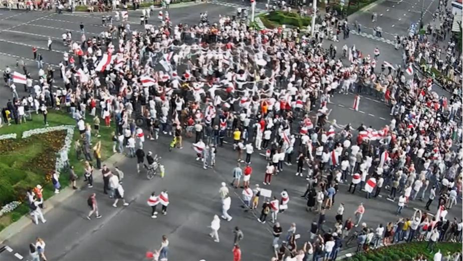 Видео: МВД Беларуси