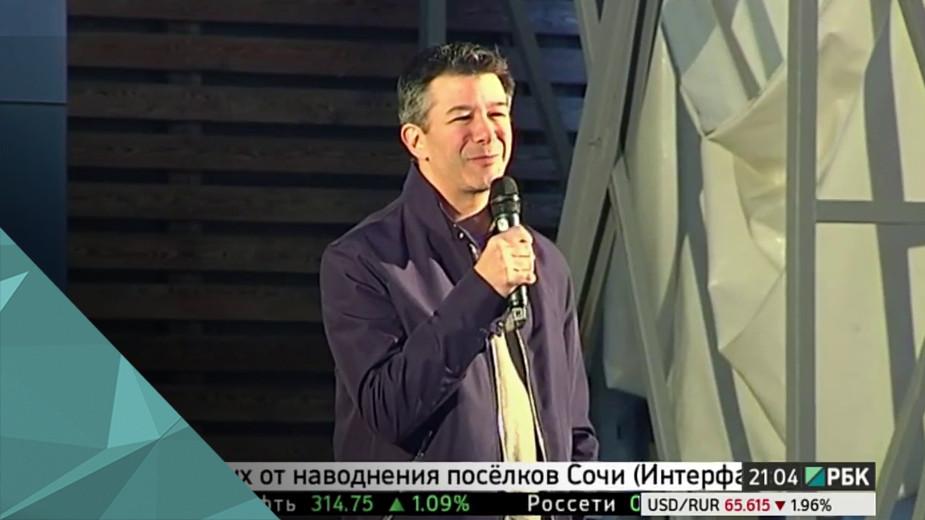 Отрывок московской лекции основателя UberТрэвисаКаланика