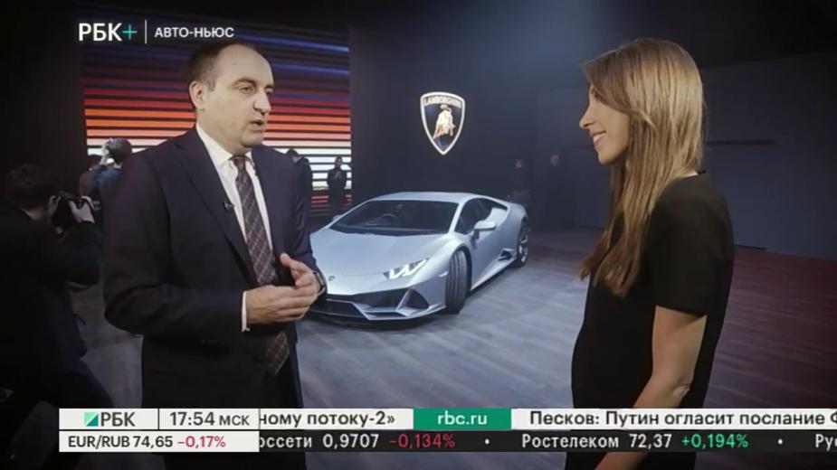 Lamborghini объявила рублевую стоимость улучшенного Huracan