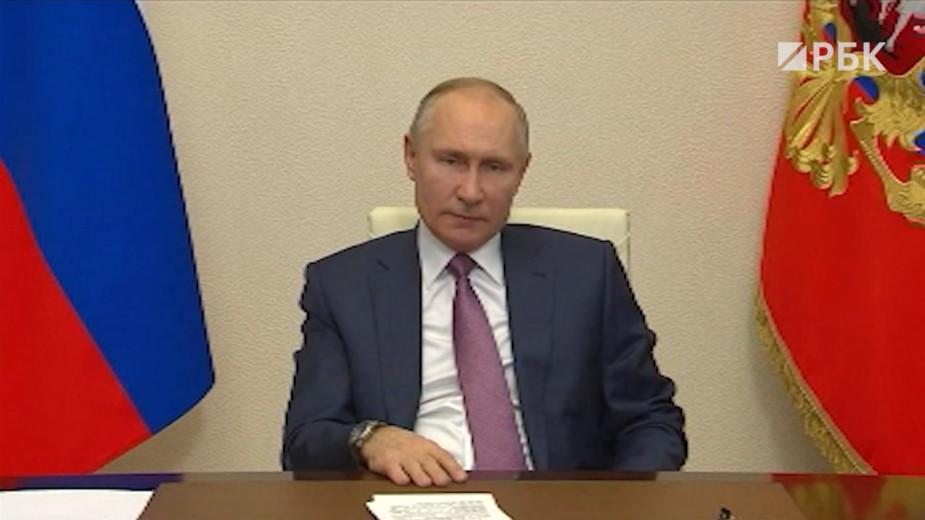 Путин потребовал от чиновников не списывать сбои и ошибки на пандемию